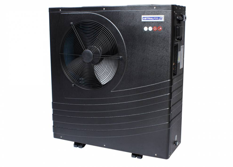 Heat pumps for pool heating endless pools and spas for Heat pump water heater for swimming pool